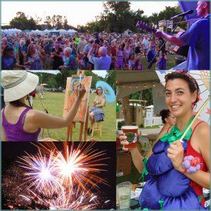 2019 Art and the Vineyard Festival @ Alton Baker Park